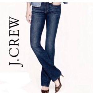 💕SALE💕J.Crew Bootcut Stretch Premium Denim Jeans